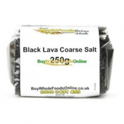 Black Lava Coarse Salt 250g