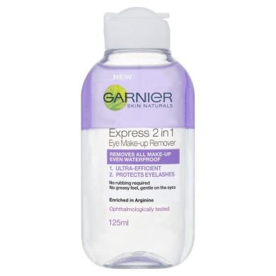 L'Oreal Garnier Skin Naturals 2-in-1 Eye Make-Up Remover 125 ml