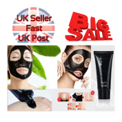 Blackhead Remover Deep Cleansing Face Mask Pore Peel Acne Peel Off Oil Black 60g