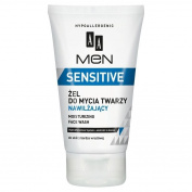 Aa Men Hypoallergenic Sensitive Moisturising Face Wash Aloe Extract 150ml
