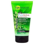 Garnier Pure Active Wasabi Scrub 150ml