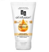 Oceanic Aa Oil Infusion Exfoliating Facial Wash Gel Avocado Babbasu Oil 150ml