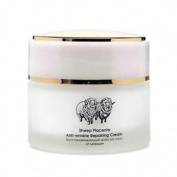 Tiande Sheep Placenta Anti-wrinkle Recovering Facial Cream,50g