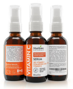 Professional 20% Vitamin C Serum For Face With Hyaluronic Acid & Vitamin E-