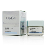 L'oreal Pure Clay Hydration Mask 50g Womens Skin Care
