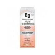 Aa Multi Regeneration 40+ Cream Lightening Dark Circles Under The Eyes 15ml
