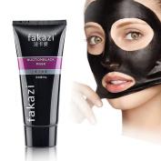 Blackhead Remover Black Mask Acne Deep Face Cleansing Pore Peel Mud Tube 90g