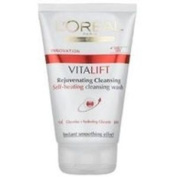 6x Anti-ageing By L'oreal Paris Vitalift Self-heating Cleansing Wash 100ml