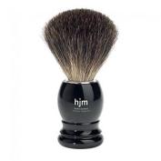 Hjm - Black Pure Badger Plastic Shaving Brush