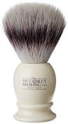 Piccadilly Shaving Co Faux Ivory Synthetic Imitation Badger Shaving Brush
