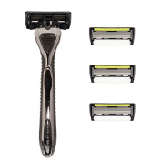 Shave-lab - Zero - Manual Razor With 4x Razor Blades P.6+1 - 6 Blades + Trimmer