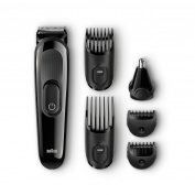 Braun Mgk3020 Multi Grooming Kit - 6-in-one Beard And Hair Trimming Kit - With