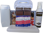 Professional Chocolate Wax Roll On Kit
