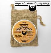 Organic Beard Balm With 6 Oils 5 Butters 2 Waxes Orientaldream 50ml .