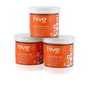 Hive Of Beauty Waxing Warm Honey Wax Depilatory 3 For 2 All Purpose Hair Removal