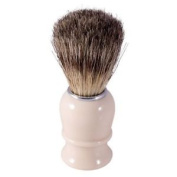 Thiers Issard Pure Badger Hair Shaving Brush - Ivory Coloured