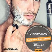 Groomarang Luxury Protective Shave Cream 100% Natural, Organic & Vegan 100ml