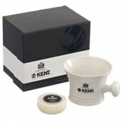 Kent Porcelain Shaving Mug And Soap White