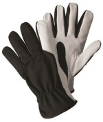 Briers Super Soft & Strong Black Leather Gardening Gloves Outdoors