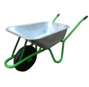 Charles Bentley Diy 90l / 175kg Heavy Duty Galvanised Boxed Wheelbarrow Free