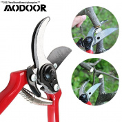 Aodoor Garden Pruning Shears, Anti Slip Rubber Handles Secateurs Shears...