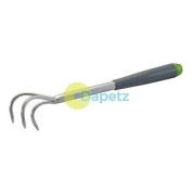 3 Prong Steel Hand Cultivator 365mm- Gardening Tool