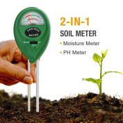Mooncity 2-in-1 Soil Moisture Sensor Metre And Ph Acidity Tester, Plant