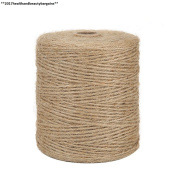 Tenn Well 300m 3ply Jute Twine, Natural Thick Garden Twine For...