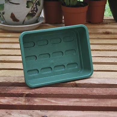 5 X Garland Mini Garden Tray Green Greenhouse Hydroponics 23x17x6cm G130g