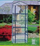 Papillon 8093015 Portable Greenhouse Pvc 5 Shelves 187cm