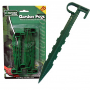 Garden Pegs - Robust Pegs For Weed Membrane String Netting Landscaping