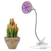 Led Grow Light, Newnet 15w Clip Desk Lamp Profession Plant Lamp With