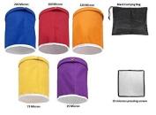 Hyindoor 4l 3.8l 5 Bag Herbal Ice Bubble Hash Bag Essence Extractor Kit Bag