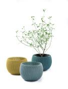 Keter Knit Cosies Indoor/outdoor Garden Plant Pots Planters - Multi-colour
