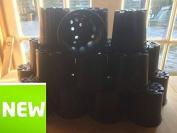 20 X 2.5l 2 1/2 Litre Economy Plastic Plant Pots