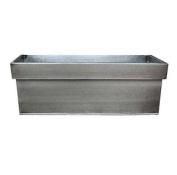 40cm Zinc Window Box/garden Planter/pot/me