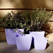 11cm Santiago Lilac Planter Home/garden Flower Plant Pot Container