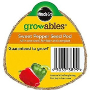 Miracle-gro Gro-ables Sweet Pepper Seed Pod