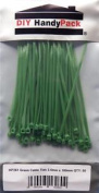 Diy Handypack Hp261 - Green Cable Ties 2.5mm X 100mm