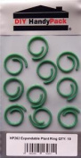 Diy Handypack Hp262 - Green Garden Expandable Plant Tie Fixing Ring