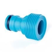 Quantum Garden - Blue Line - 1.3cm Accessory Or Tap Connector - Male Thread