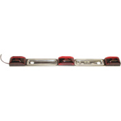 Anderson Over 200cm Submersible Stainless Steel Light Bar, Red