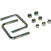 Extreme Max 10cm Hardware Kit for High-Mount Spare Tyre Carrier