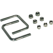 Extreme Max 7.6cm Hardware Kit for High-Mount Spare Tyre Carrier