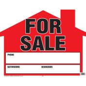 15x19 Shaped House For Sale Sign
