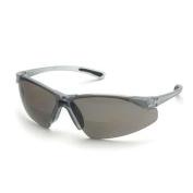 Elvex RX-200G-3.0 Safety Glasses, Grey Polycarbonate Lense, Graphite Frame