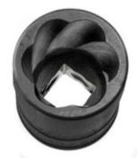 SK Hand Tool 15mm Standard Drive Socket Turbo, 3/8-Inch 815