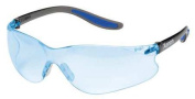 XENON Safety Glasses,Blue,Uncoated SG-14B