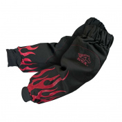 Black Stallion BSX BX9-19S-BK 270ml 48cm Red Flame Resistant Cotton Welding Sleeves