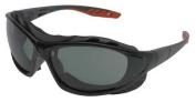 Jackson Smoke Safety Glasses, Anti-Fog, Scratch-Resistant, Foam Lined, 35327